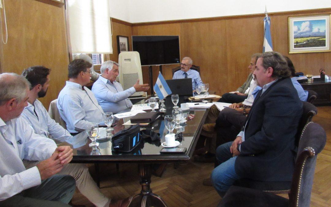 Secretario de Agricultura de la Nación recibió a dirigentes de FeDIA